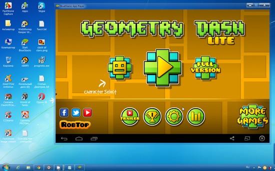 как скачать игру геометри даш на пк